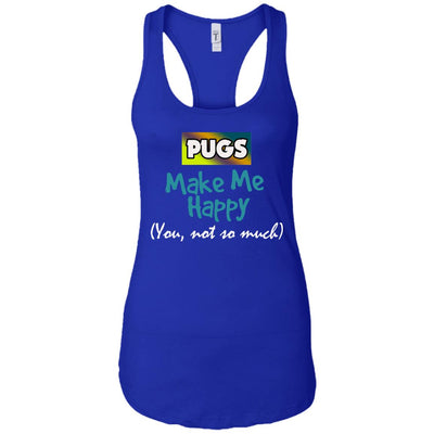 Pugs Make Me Happy - Apparel - pug bestseller