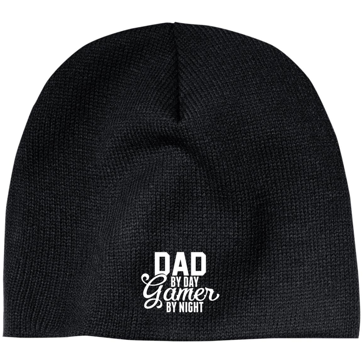 Dad By Day Gamer By Night Beanie