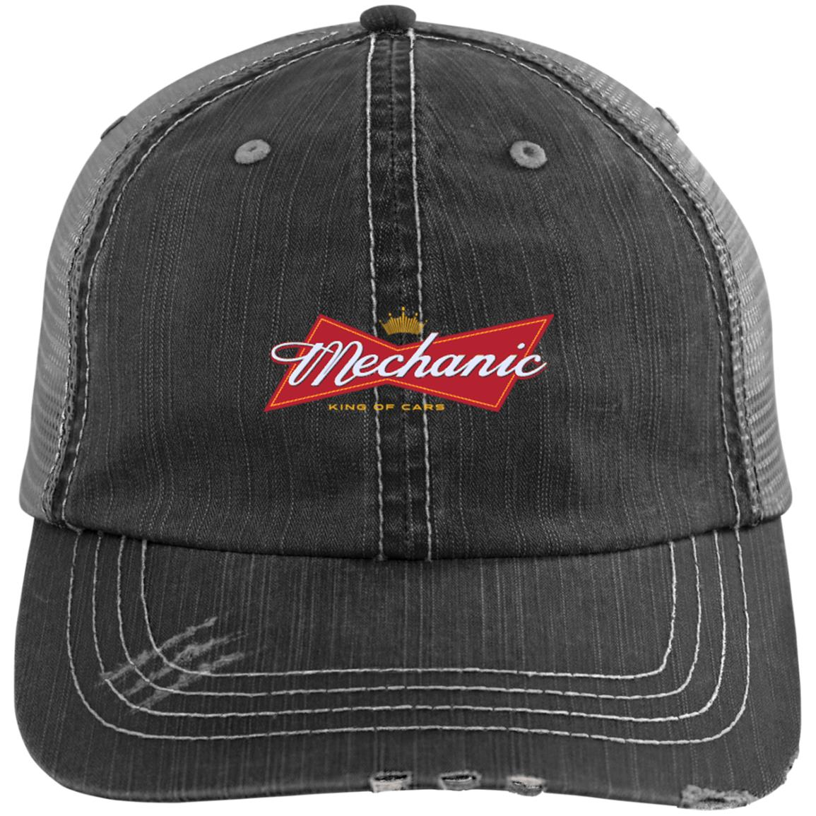 Mechanic King of Cars Trucker Cap - mechanic bestseller