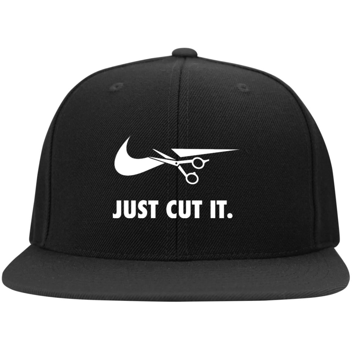 Just Cut It Snapback Hat