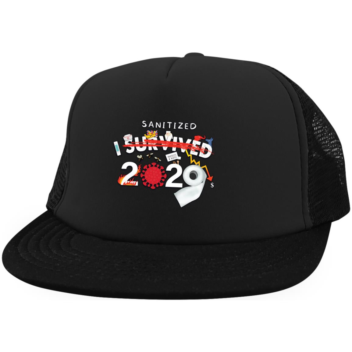 I Sanitized 2020 - Trucker Hat with Snapback