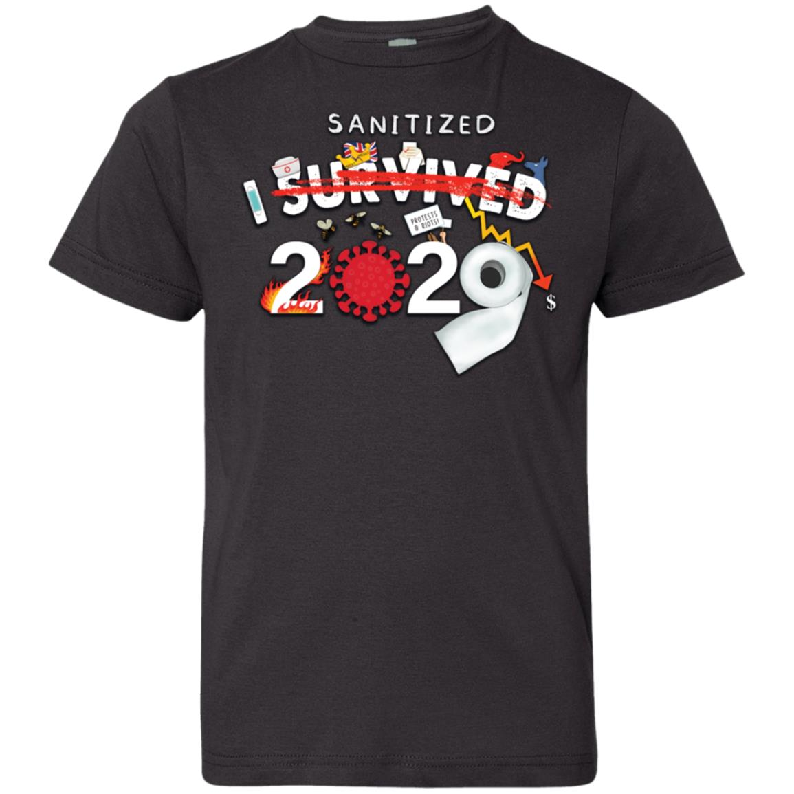 I Sanitized 2020 - Youth Jersey T-Shirt
