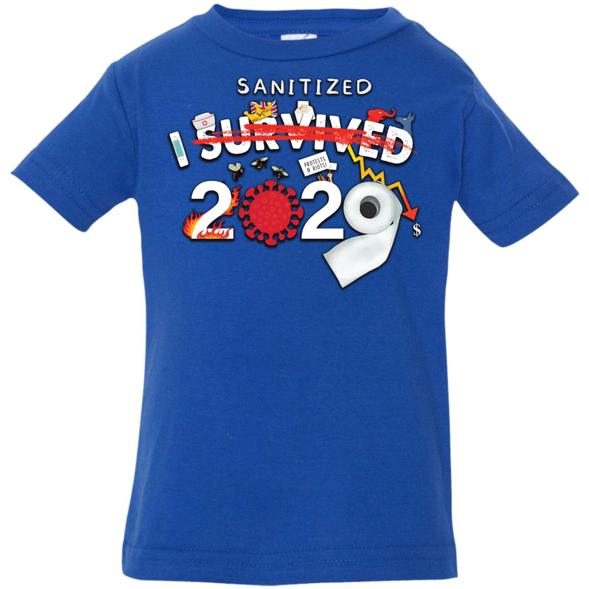 I Sanitized 2020 - Infant Jersey T-Shirt