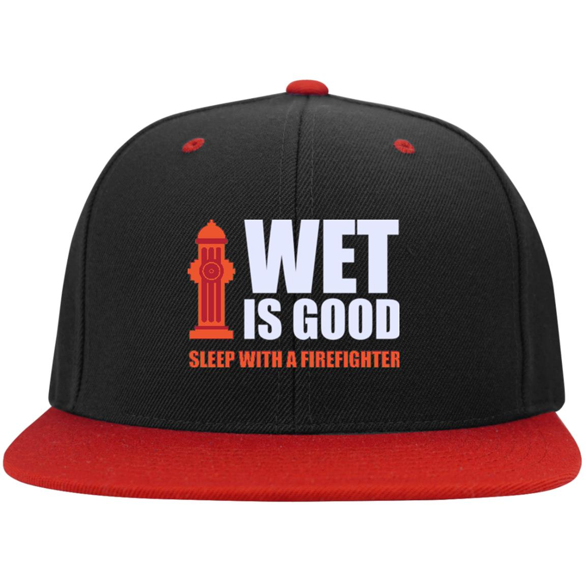 Wet Is Good Snapback Hat - firefighter bestseller