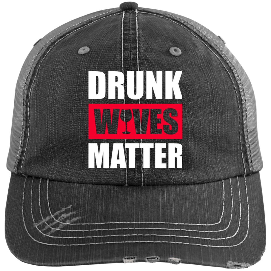 Drunk Wives Matter - Distressed Syle