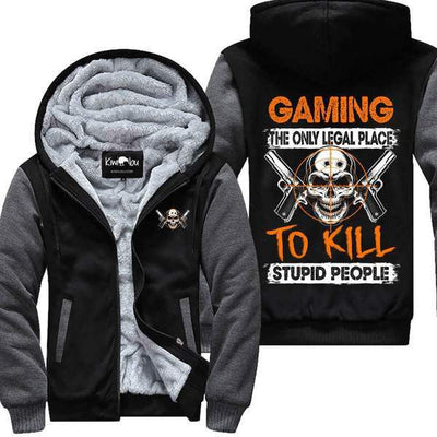 Gaming Jacket - The Only Legal Place