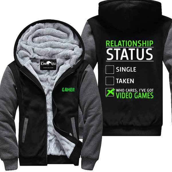 Gamer Relationship Status - Jacket