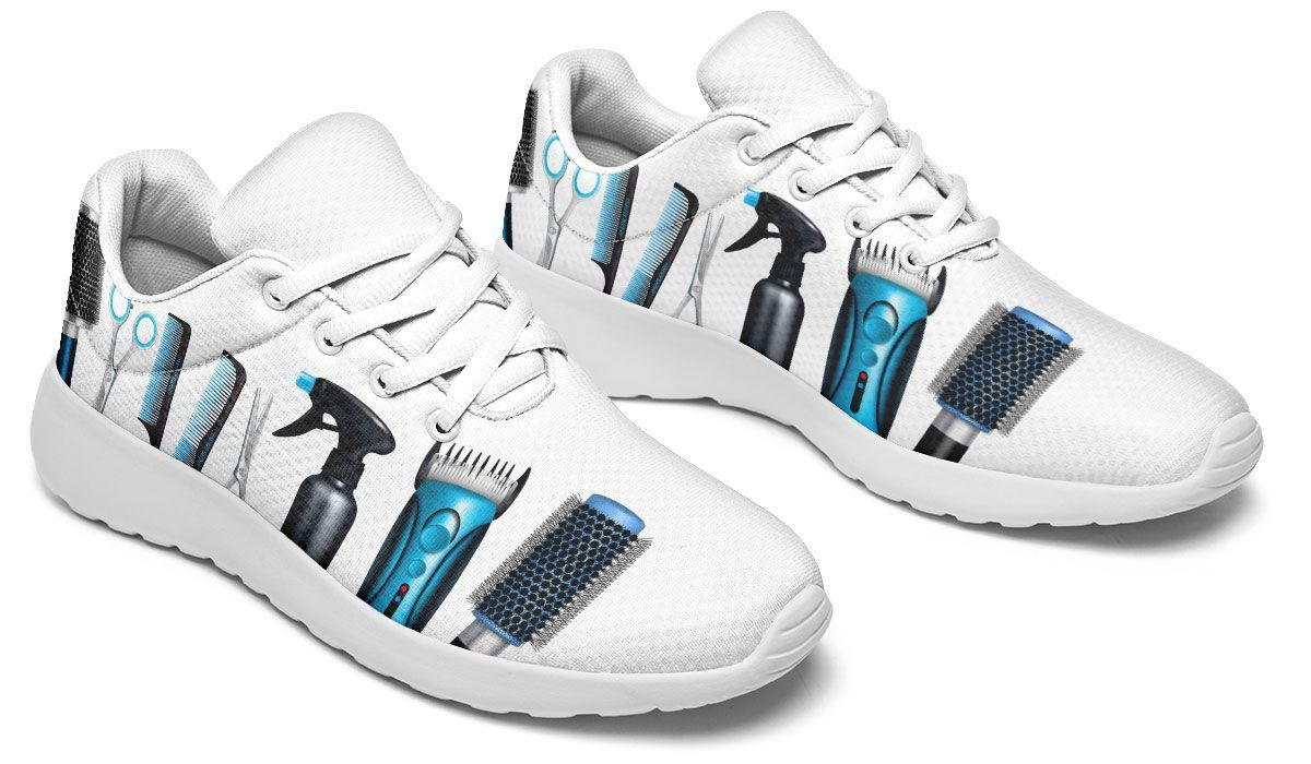 Blue Hair Tools Sneakers