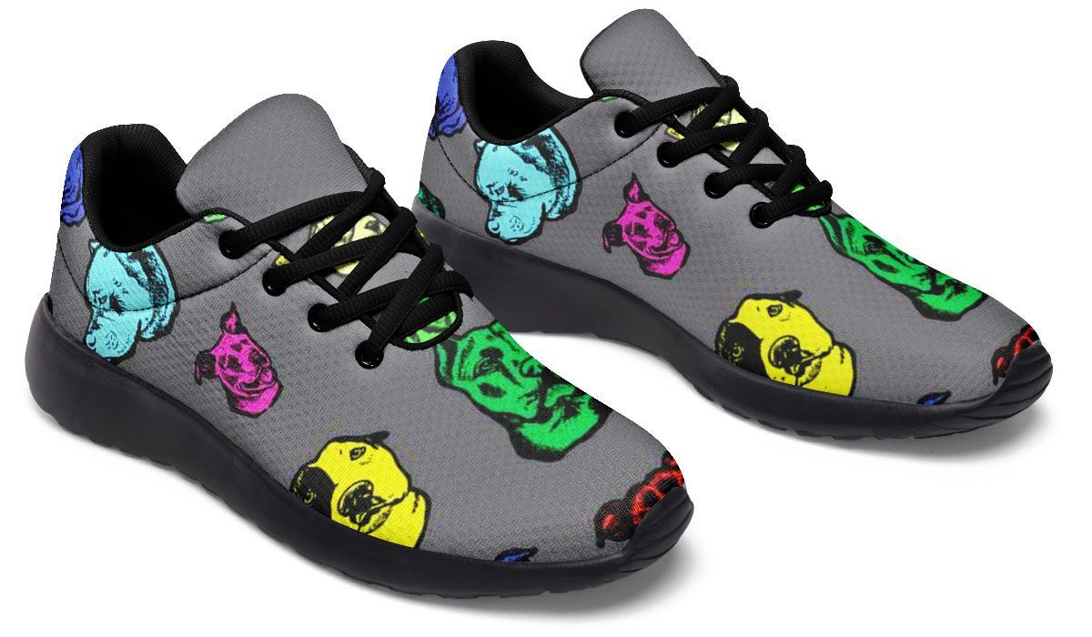 Color Pits Sneakers