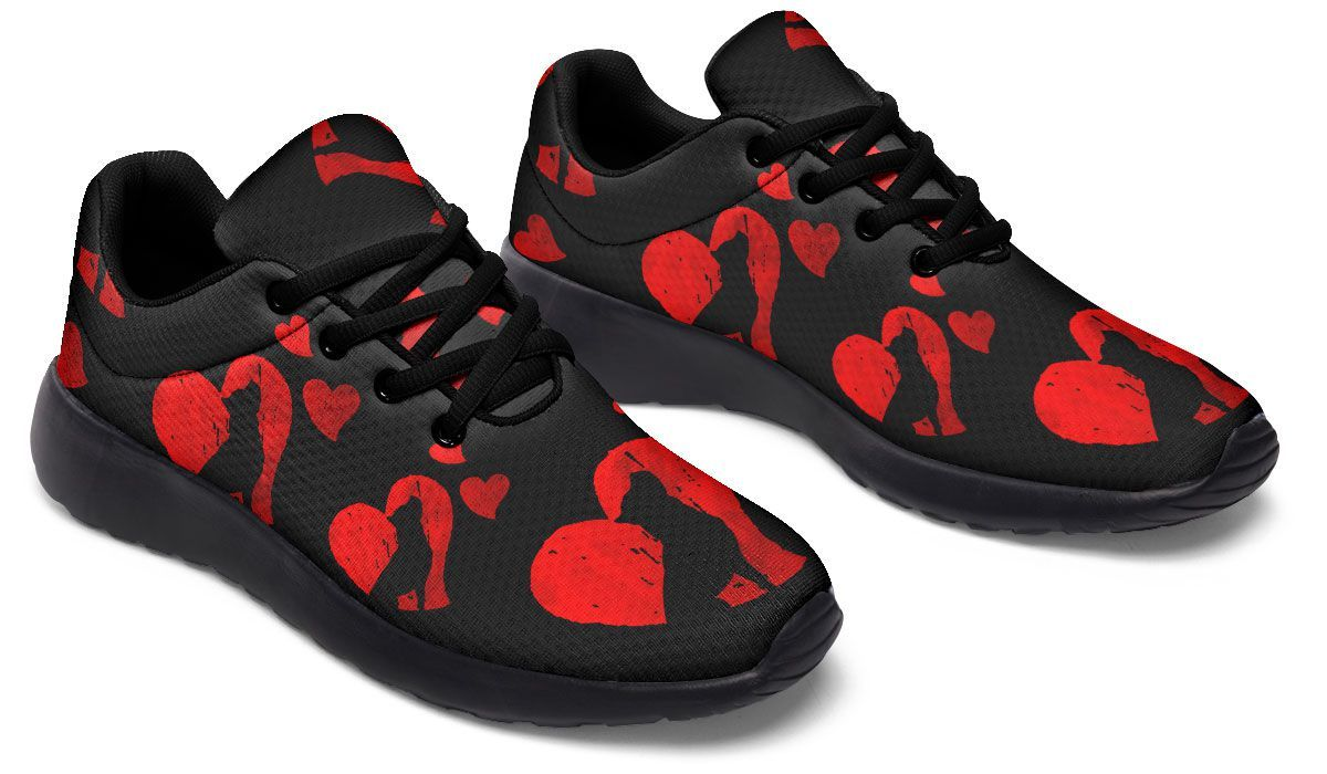 Pit Hearts Sneakers