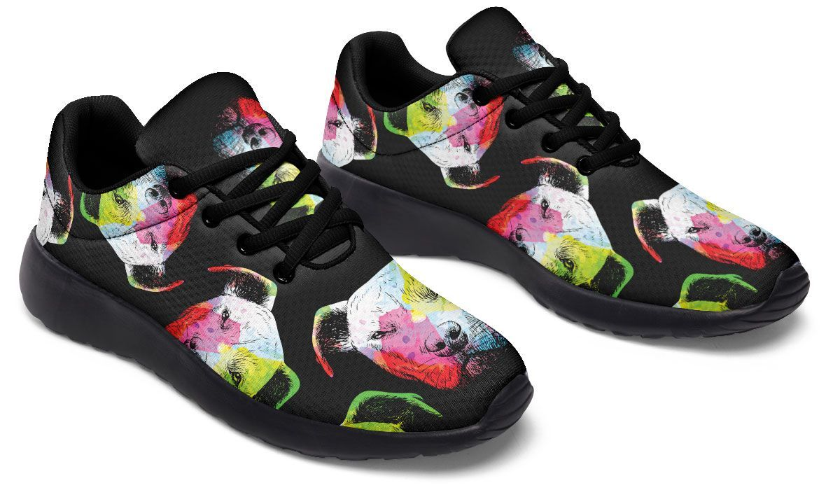 Rainbow Pit Sneakers