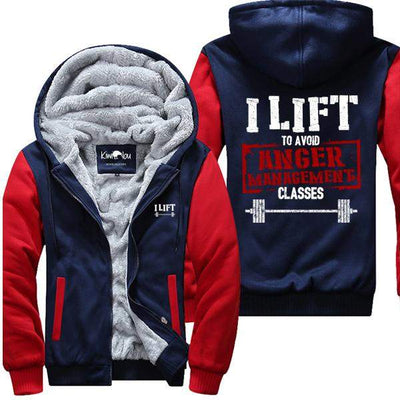 I Lift To Avoid Anger Management - Jacket