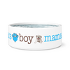 Mama's Boy Bulldog Dog Bowl