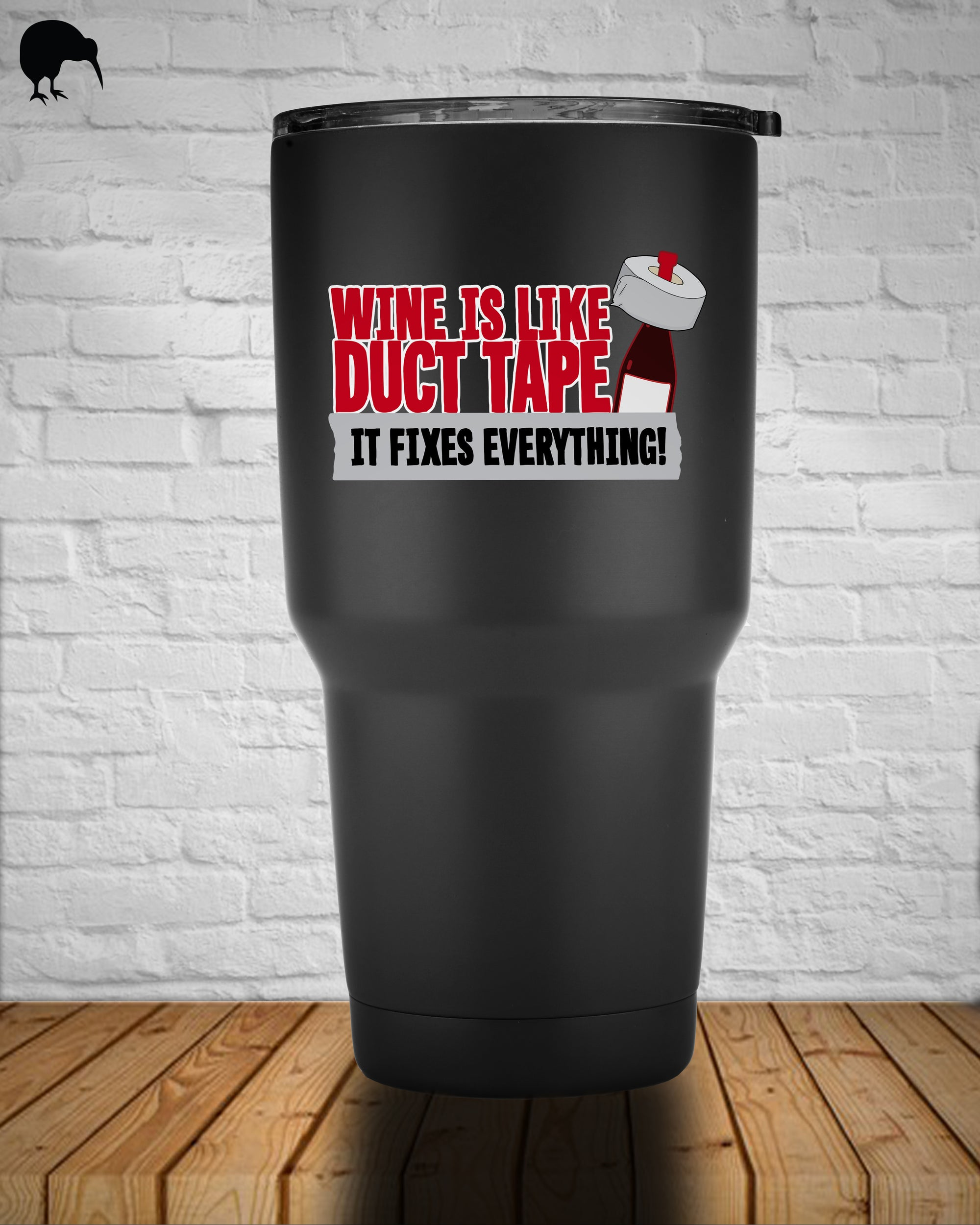 Wine Fixes Everything - Tumbler