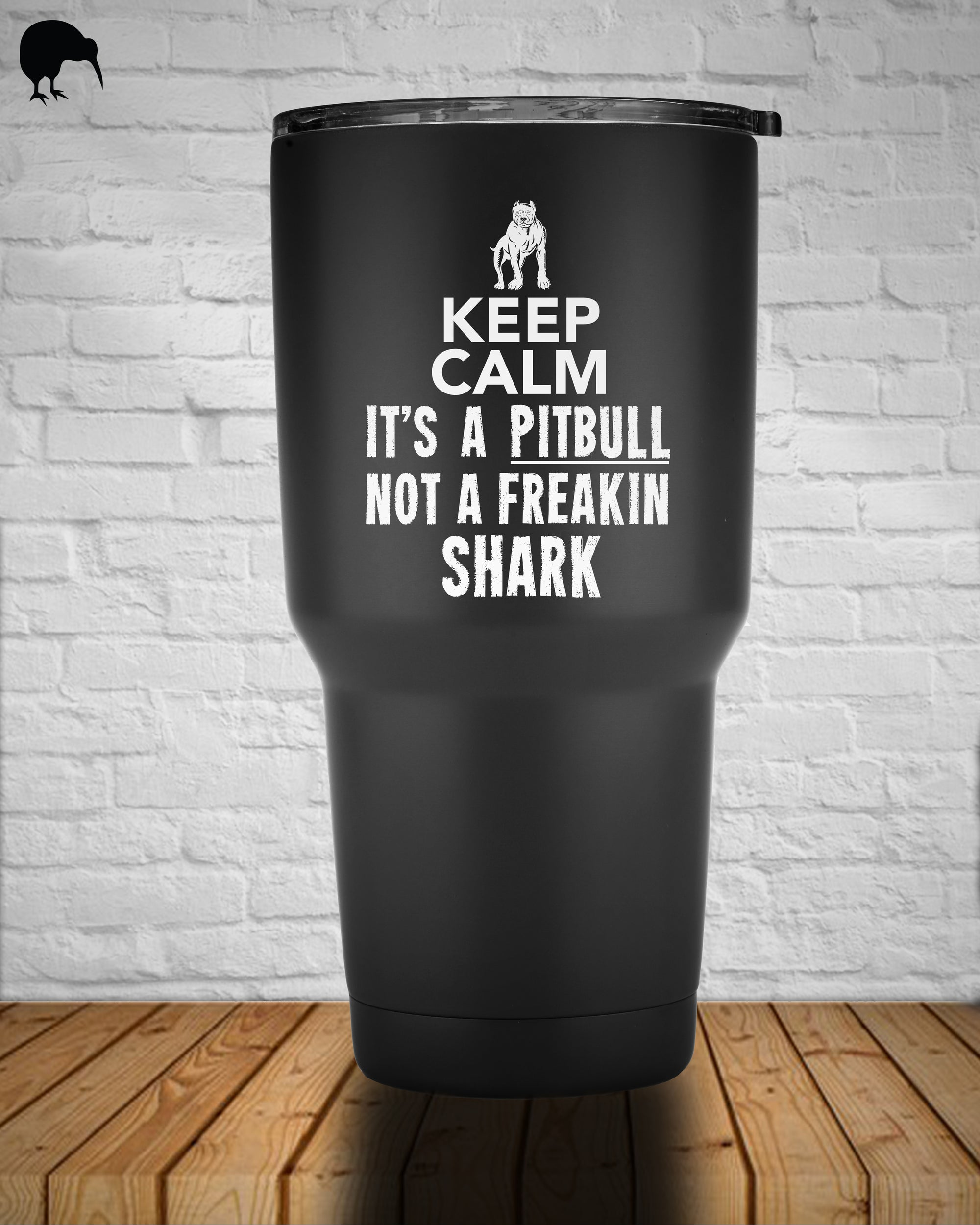 Keep Calm, It's A Pitbull - Tumbler