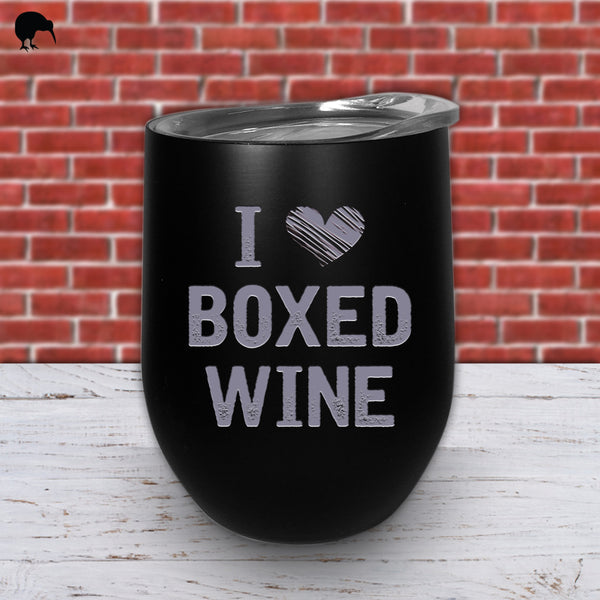 I Love Boxed Wine - Wine Cup
