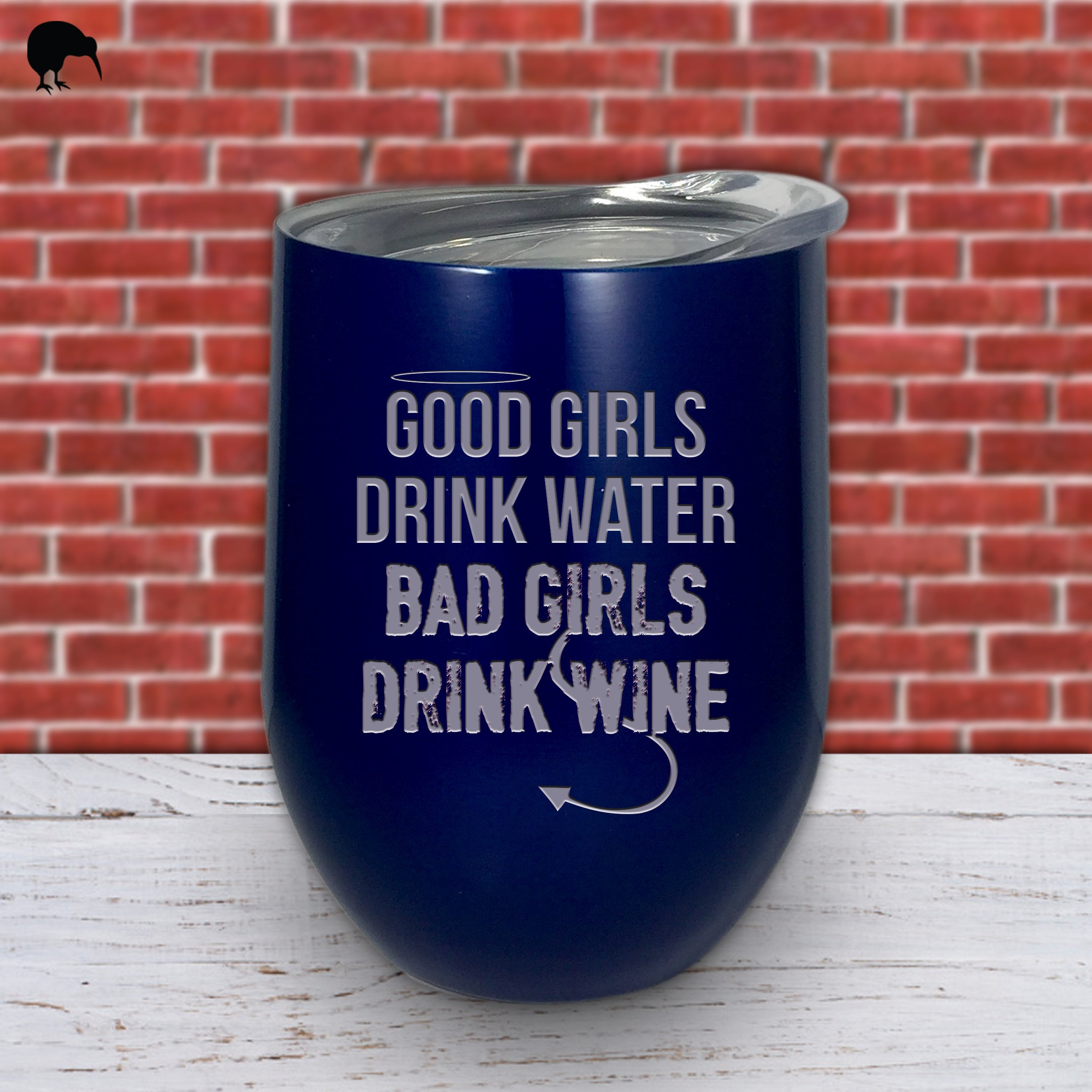 Bad Girls Drink Wine - Wine Cup