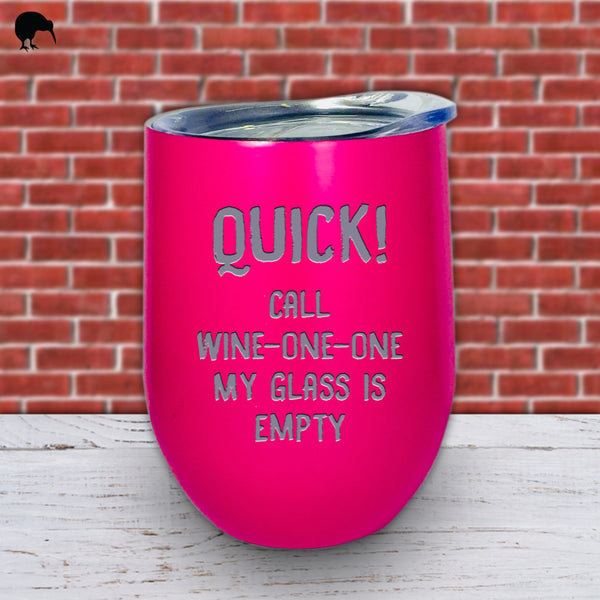 Call Wine One One - Wine Cup