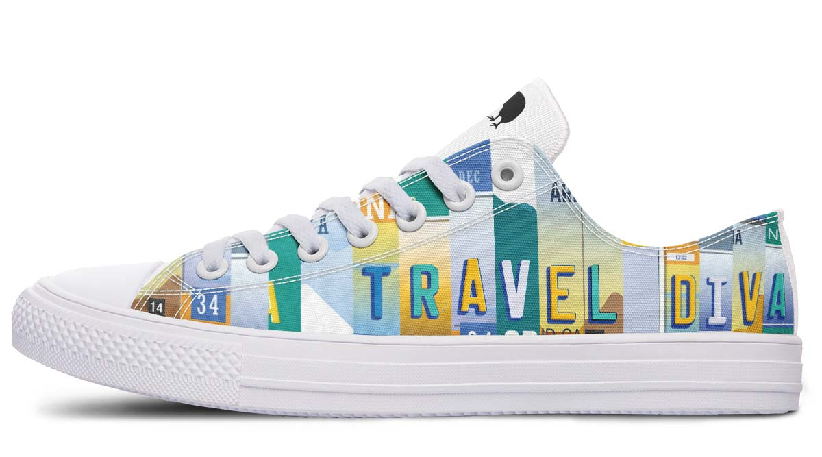Travel Diva Low Top Shoes - Teal