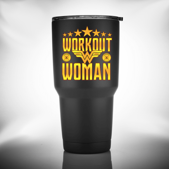 Workout Woman- Tumbler