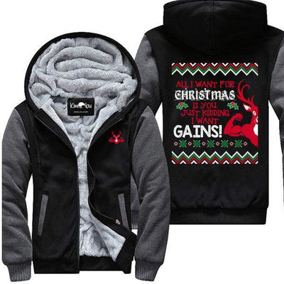 All I Want For Christmas - Fitness Jacket