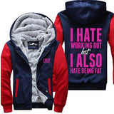 I Hate Working Out - Jacket