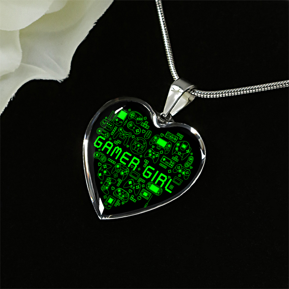 Gamer Girl Necklace