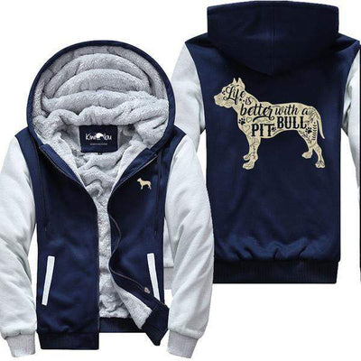 Life Is Better With A Pitbull - Jacket
