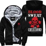 Blood Sweat and Barbells - Gym Jacket