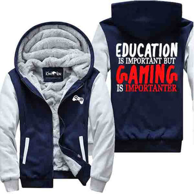 Gaming is Importanter - Gamer's Jacket