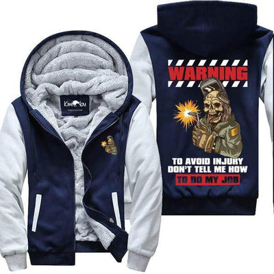 Welders Warning - Jacket