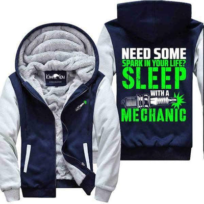 Need Some Spark? Sleep with a Mechanic - Jacket