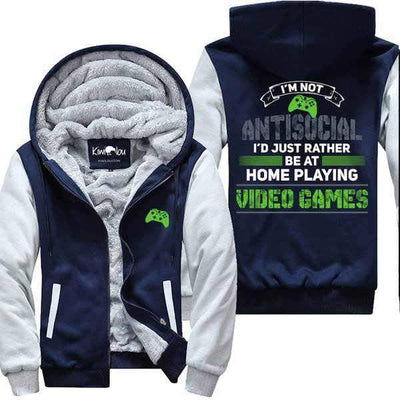 Not Antisocial - I am a Gamer Jacket