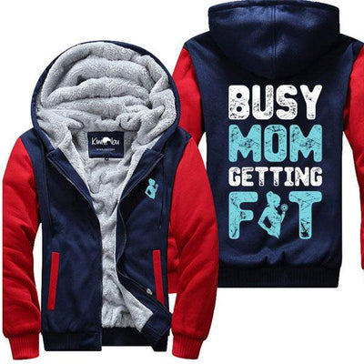 Busy Mom Getting Fit -  Gym Jacket