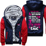 Gym Loving Chick - Fitness Jacket