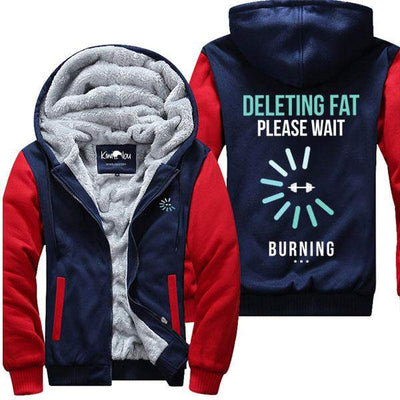 Deleting Fat Please Wait - Jacket