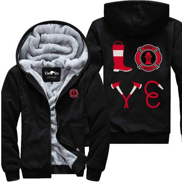 Firefighter Love - Jacket