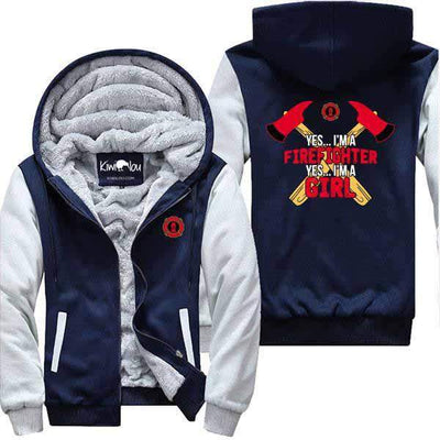 I Am A Firefighter Girl - Jacket