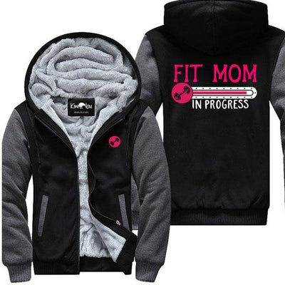 Fit Mom In Progress - Gym Jacket