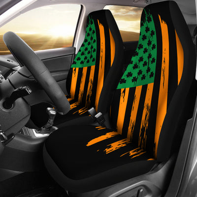 Irish USA Flag Car Seat Covers (set of 2)