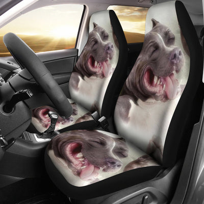 Smiling Pit Car Seat Covers (set of 2)