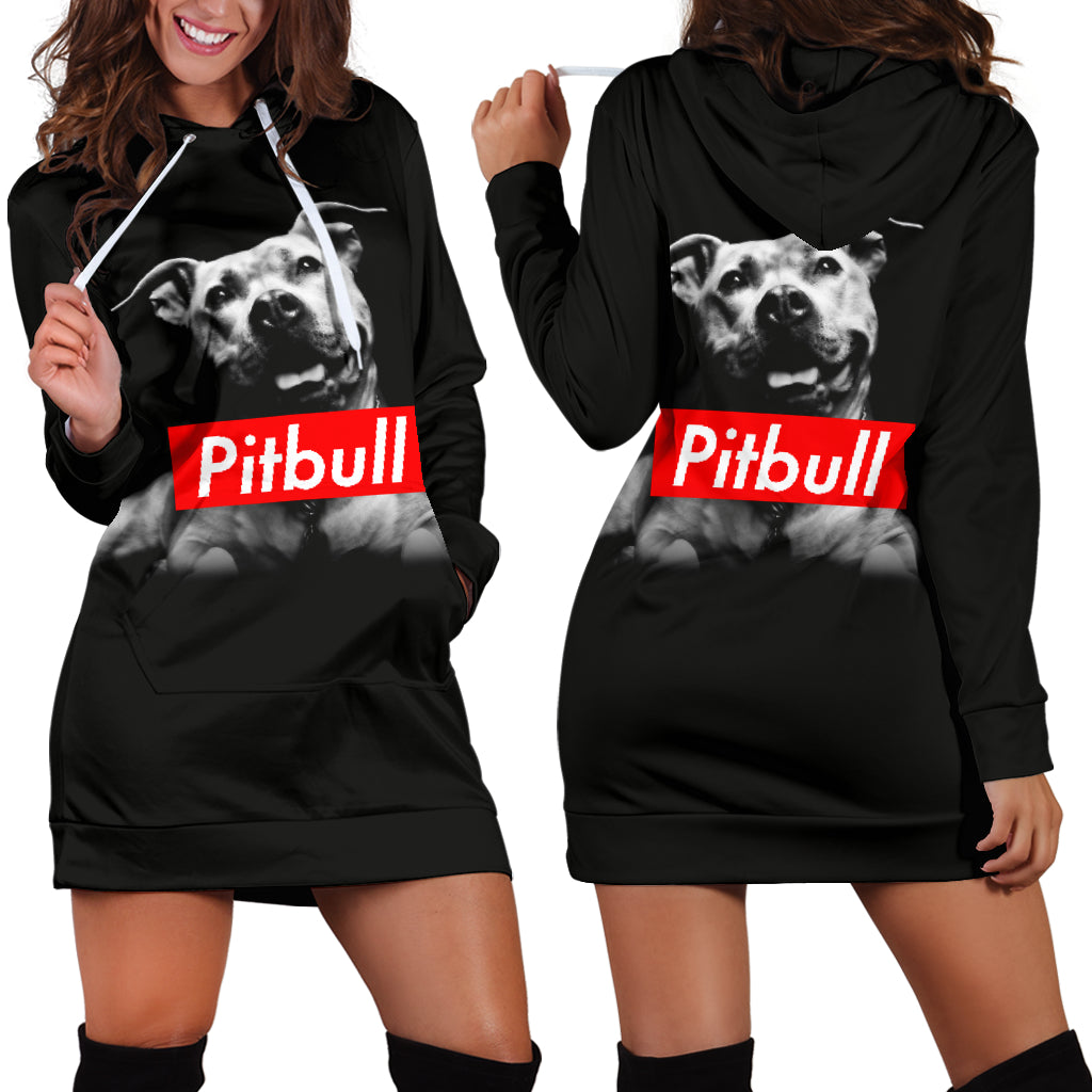 Pitbull Hoodie Dress
