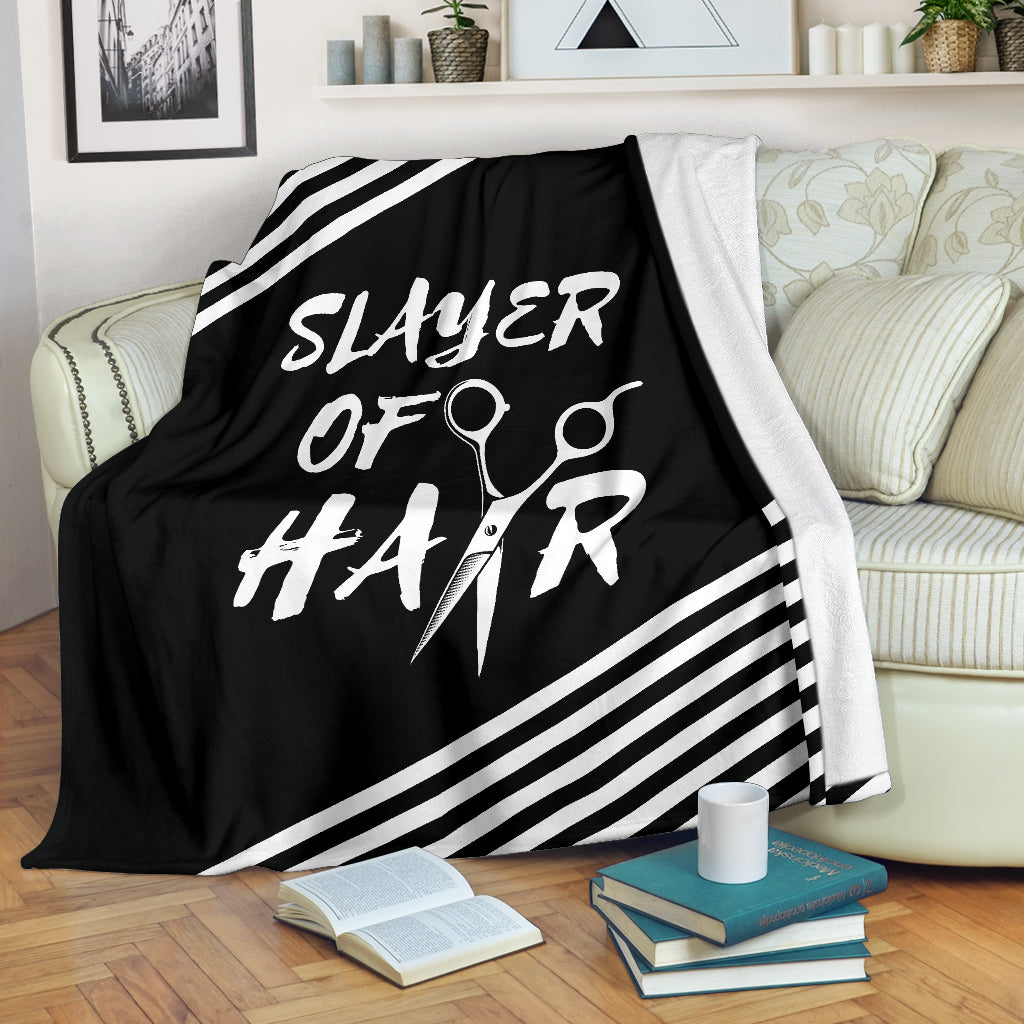 Slayer of Hair Premium Blanket