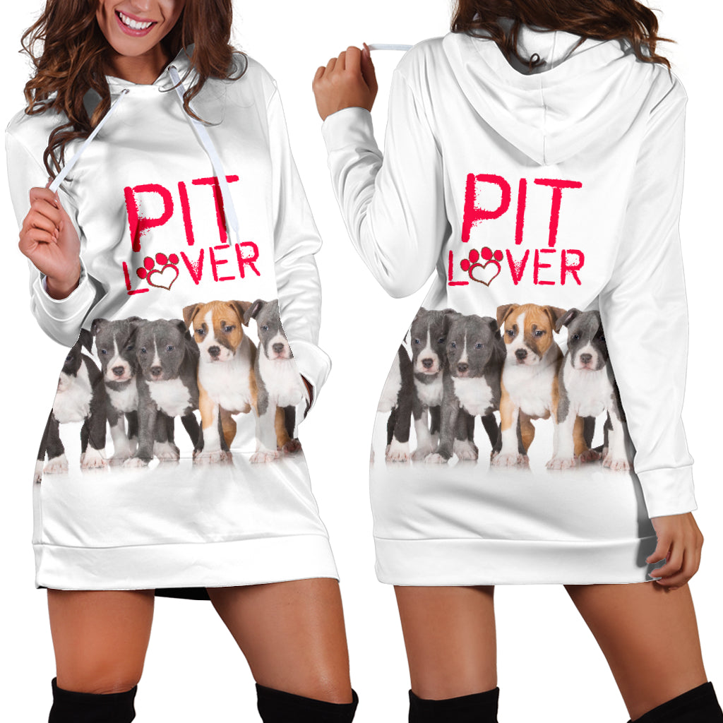 Pit Lover Hoodie Dress