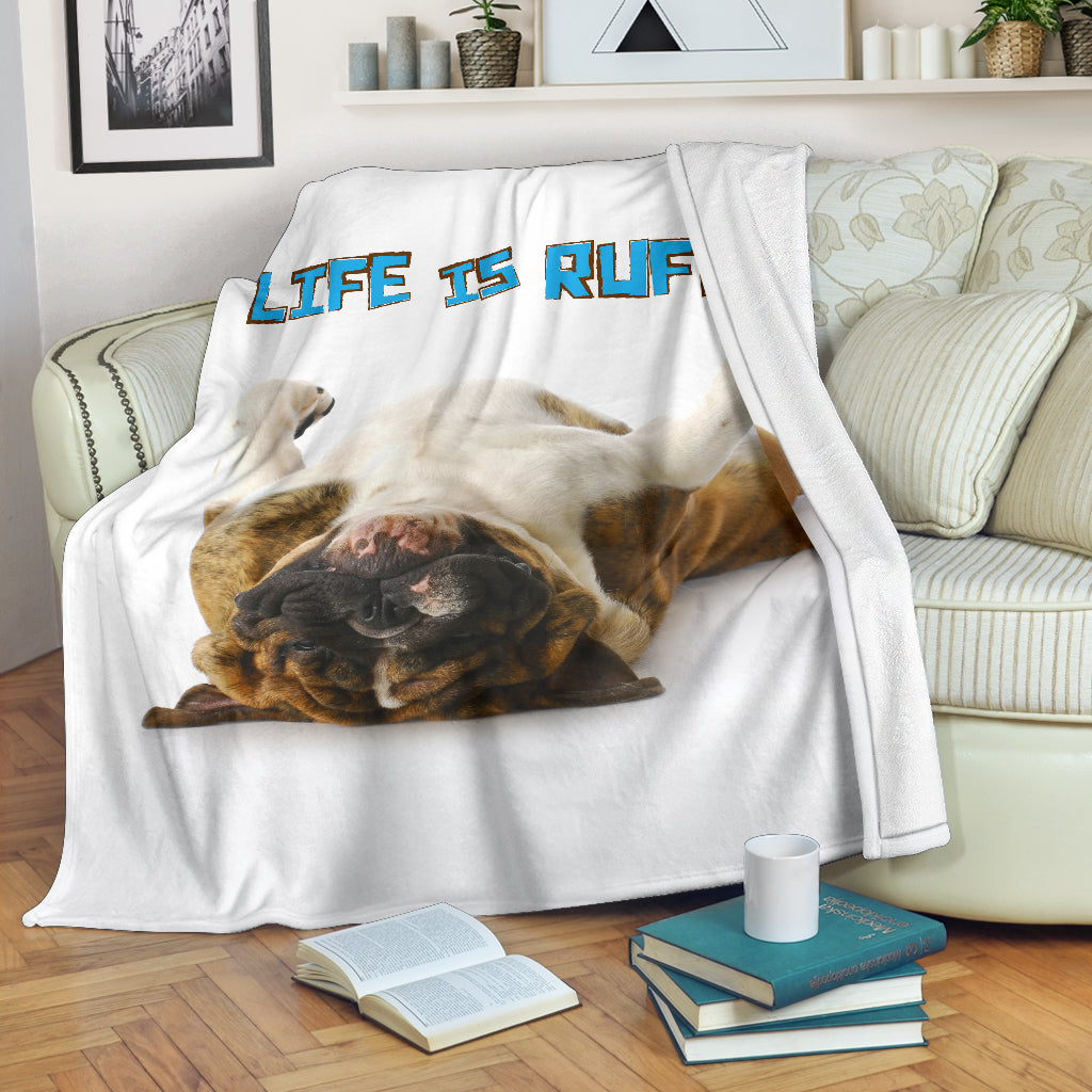 Life Is Ruff Premium Blanket