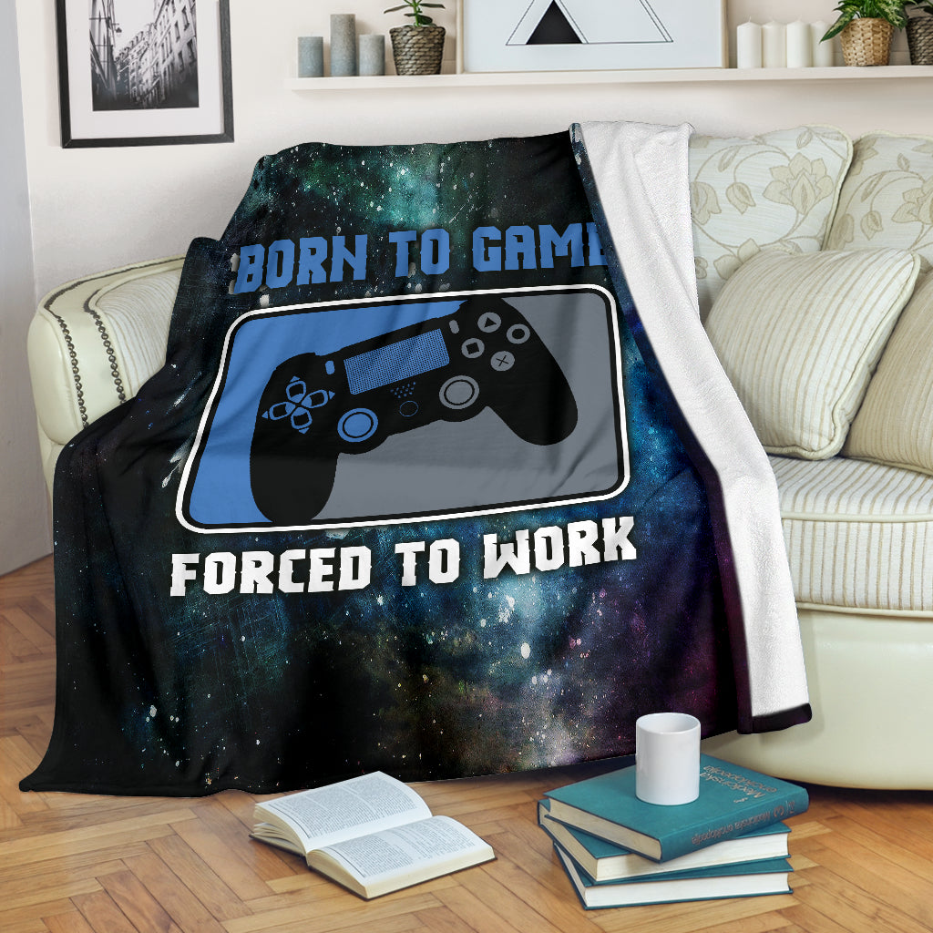 Born To Game PS Premium Blanket