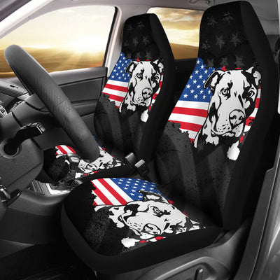 American Pit Car Seat Covers (set of 2)