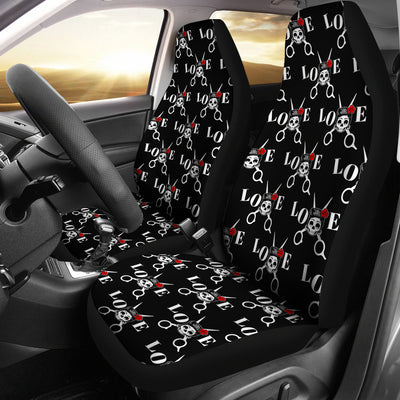 Love Hair Car Seat Covers (set of 2)