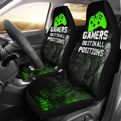 XB Gamer Positions Car Seat Covers (set of 2)