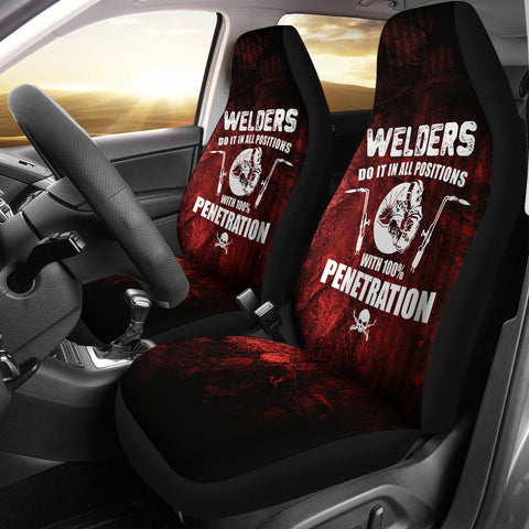 Welder Positions Car Seat Covers (set of 2)